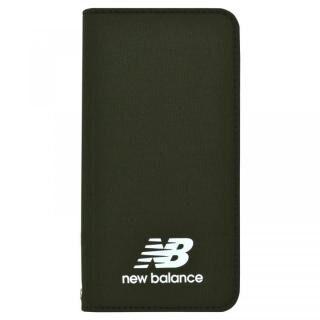 New Balance(ニューバランス) シンプル手帳ケース カーキ iPhone 8/7/6s/6
