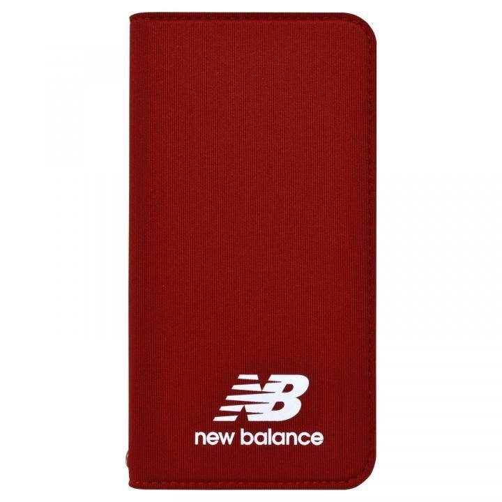 【iPhone8/7/6s/6ケース】New Balance(ニューバランス) シンプル手帳ケース レッド iPhone 8/7/6s/6_0