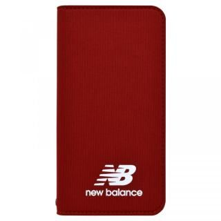【iPhone8/7/6s/6ケース】New Balance(ニューバランス) シンプル手帳ケース レッド iPhone 8/7/6s/6【3月上旬】