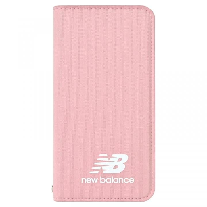 iPhone8/7/6s/6 ケース New Balance(ニューバランス) シンプル手帳ケース ピンク iPhone 8/7/6s/6_0