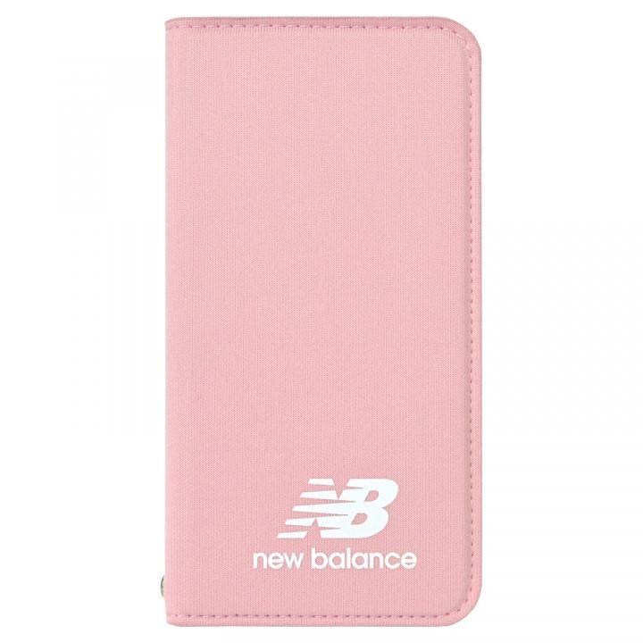 iPhone8/7/6s/6 ケース New Balance(ニューバランス) シンプル手帳ケース ピンク iPhone SE 第2世代/8/7/6s/6_0