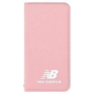 【iPhone8/7/6s/6ケース】New Balance(ニューバランス) シンプル手帳ケース ピンク iPhone 8/7/6s/6【3月上旬】