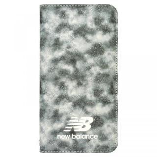 iPhone SE 第2世代 ケース New Balance(ニューバランス) デザイン手帳ケース SmallSplatter iPhone SE 第2世代/8/7/6s/6