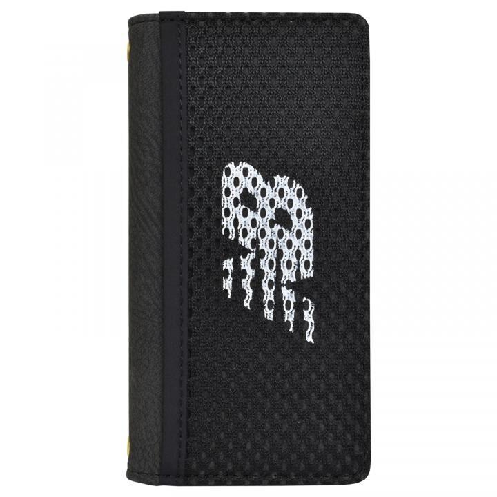 iPhone8/7/6s/6 ケース New Balance(ニューバランス) メッシュ手帳ケース ブラック iPhone SE 第2世代/8/7/6s/6【8月下旬】_0