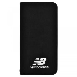 iPhone XS/X ケース New Balance(ニューバランス) シンプル手帳ケース ブラック iPhone XS/X