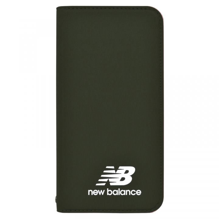 iPhone XS/X ケース New Balance(ニューバランス) シンプル手帳ケース カーキ iPhone XS/X_0