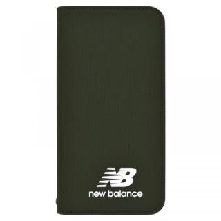 iPhone XS/X ケース New Balance(ニューバランス) シンプル手帳ケース カーキ iPhone XS/X
