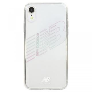 7de02fa7c2 iPhone XR ケース New Balance(ニューバランス) TPU+PCハイブリッド クリアケース クリア iPhone XR