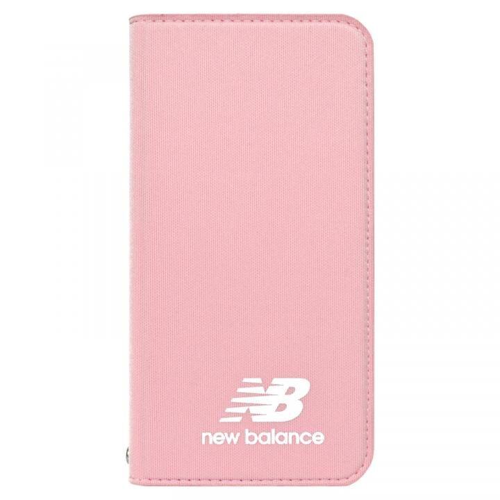 iPhone XS/X ケース New Balance(ニューバランス) シンプル手帳ケース ピンク iPhone XS/X_0