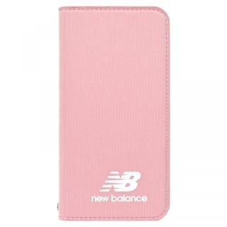 iPhone XS/X ケース New Balance(ニューバランス) シンプル手帳ケース ピンク iPhone XS/X