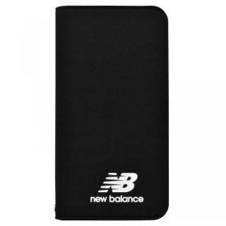 【iPhone XRケース】New Balance(ニューバランス) シンプル手帳ケース ブラック iPhone XR【3月下旬】