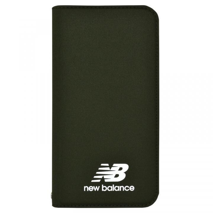 iPhone XR ケース New Balance(ニューバランス) シンプル手帳ケース カーキ iPhone XR_0