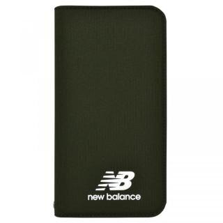 iPhone XR ケース New Balance(ニューバランス) シンプル手帳ケース カーキ iPhone XR