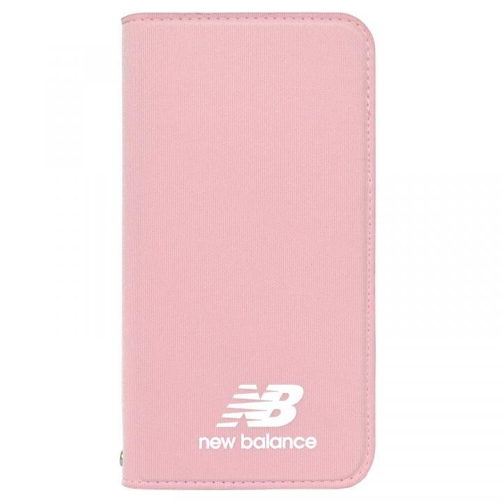 iPhone XR ケース New Balance(ニューバランス) シンプル手帳ケース ピンク iPhone XR_0