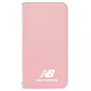 iPhone XR ケース New Balance(ニューバランス) シンプル手帳ケース ピンク iPhone XR