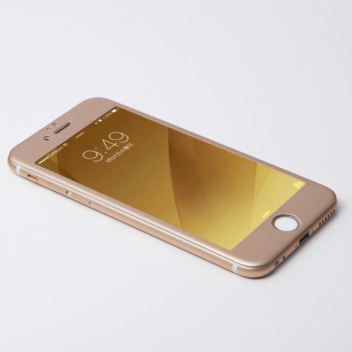 iPhone6 Plus フィルム Deff W-FACE 強化ガラス&アルミ液晶保護 ゴールド iPhone 6 Plus_0