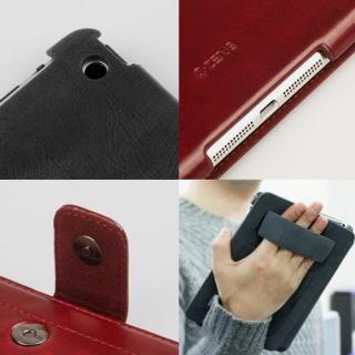 iPad mini/2/3ケース Masstige Neo Classic Diary ワインレッド_3