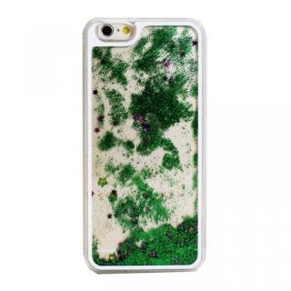 ウォーターラメケース グリーン iPhone 6 Plus