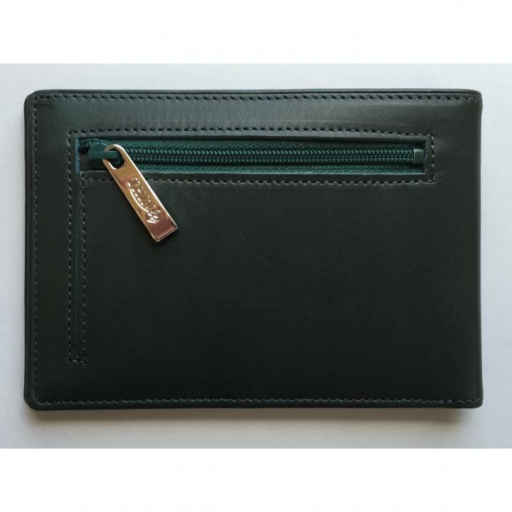 カードをたくさん入れても薄い財布(小銭入れ付き)BS04 グリーン_0