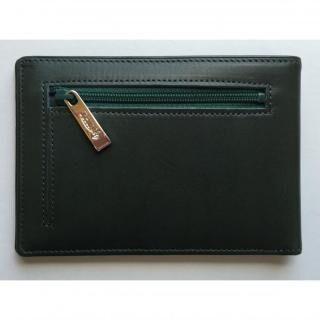 カードをたくさん入れても薄い財布(小銭入れ付き)BS04 グリーン【7月下旬】