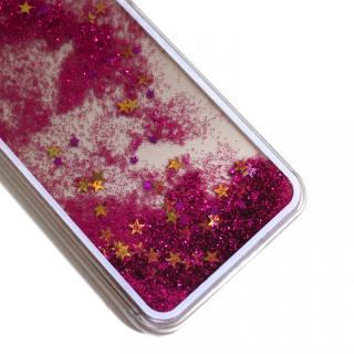 【iPhone6ケース】ウォーターラメケース ピンク iPhone 6_4