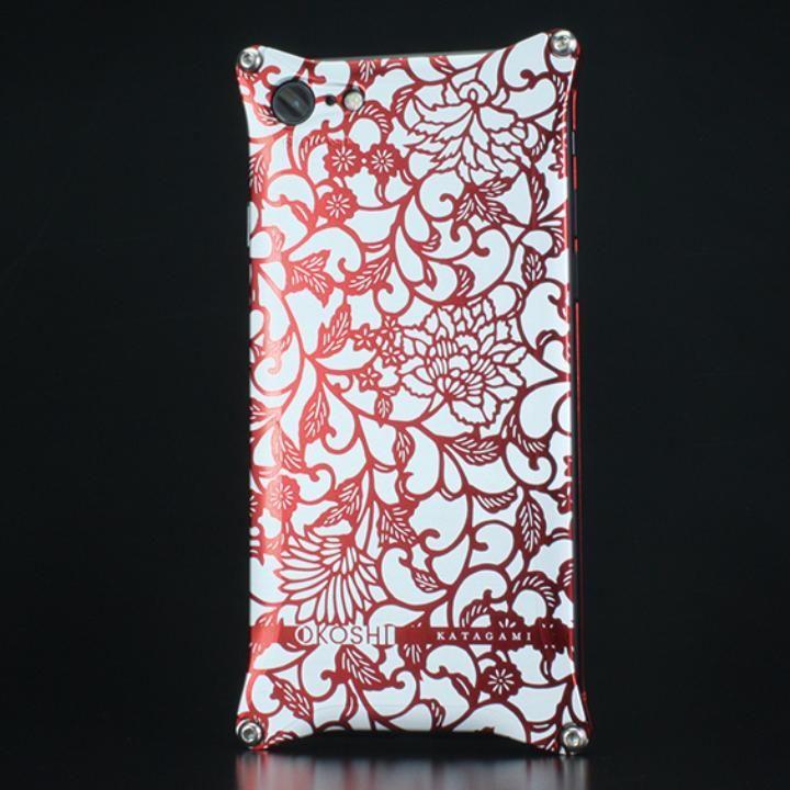 OKOSHI-KATAGAMI ギルドデザイン コラボケース アラベスク レッド iPhone 7