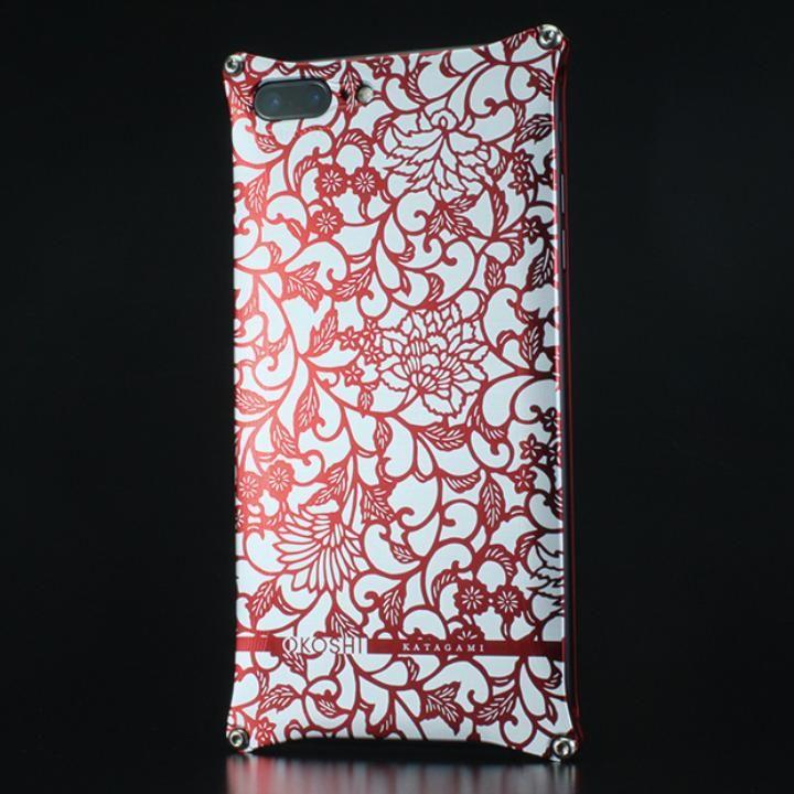 OKOSHI-KATAGAMI ギルドデザイン コラボケース アラベスク レッド iPhone 7 Plus