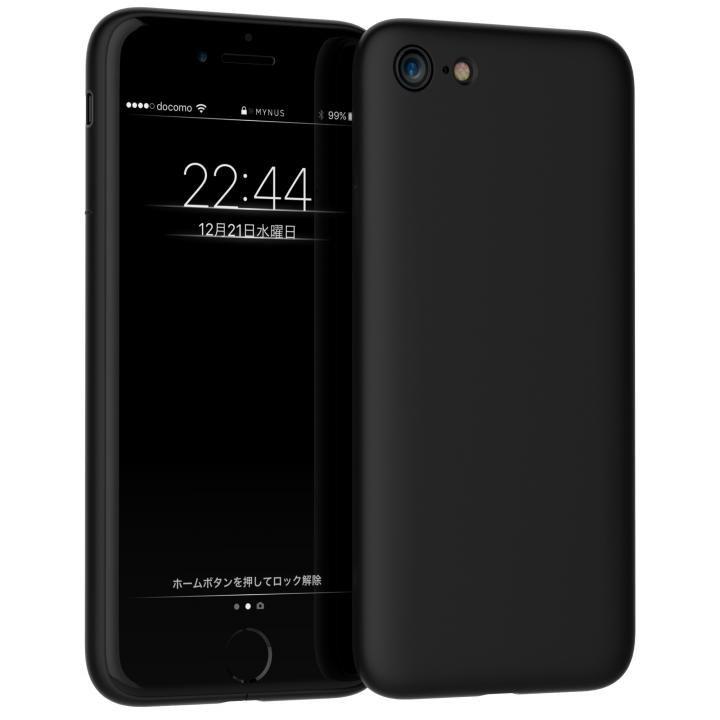 iPhone7 ケース MYNUS ケース マットブラック iPhone 7_0