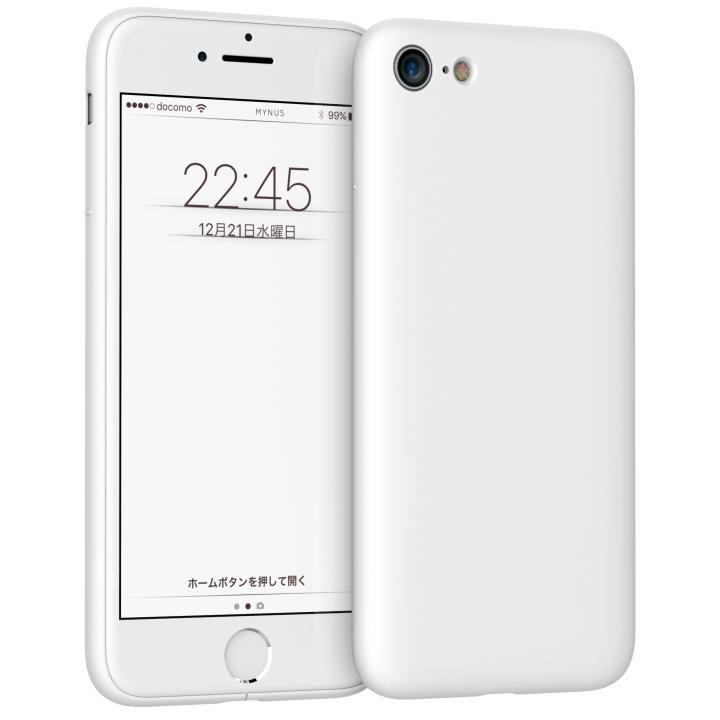 iPhone7 ケース MYNUS ケース マットホワイト iPhone 7_0