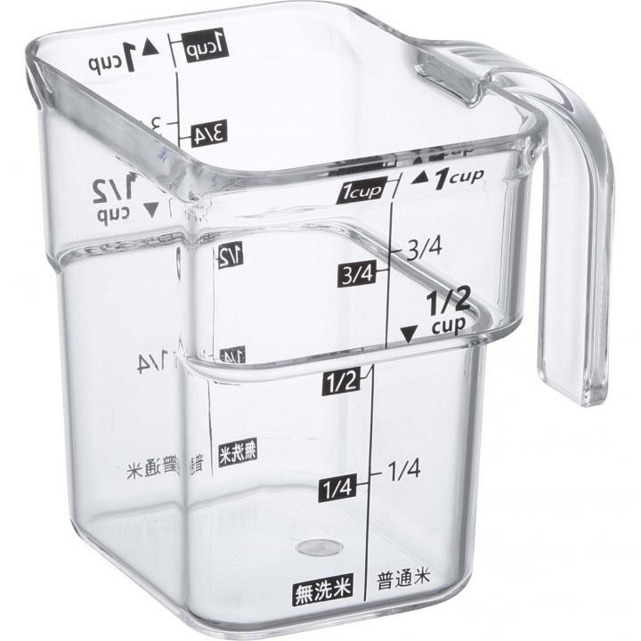 段ー米計量カップ レイヤー ブラック_0