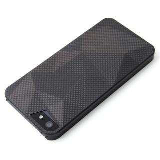 【iPhone SE/5s/5ケース】重さわずか7g リアルカーボンファイバーケース  iPhone 5s/5 Delta ブラック
