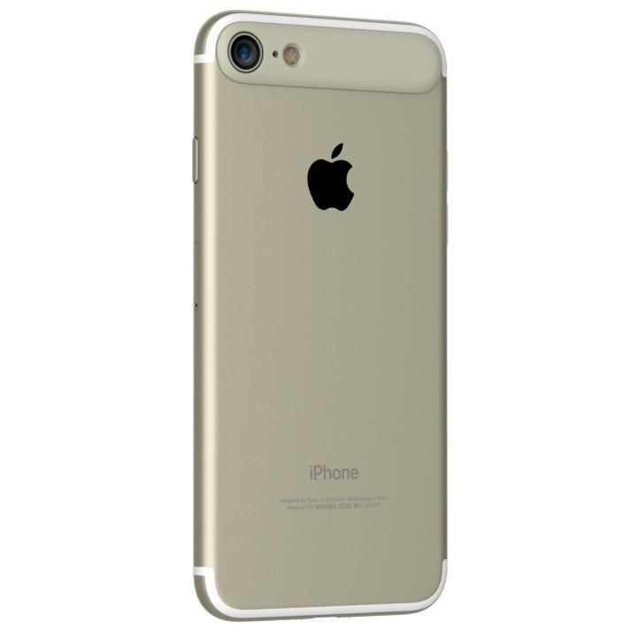 iPhone7 ケース MYNUS リアバンパー ゴールド iPhone 7_0