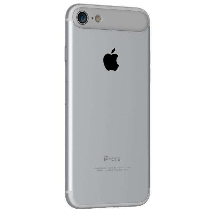 iPhone7 ケース MYNUS リアバンパー グレー iPhone 7_0
