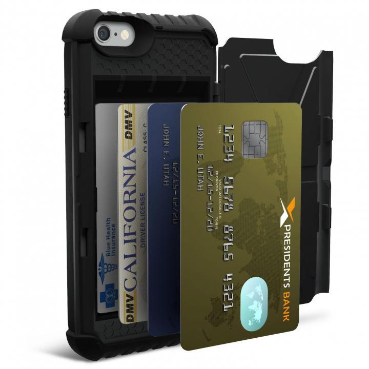 UAG 耐衝撃カード収納ケース ブラック iPhone 6s/6