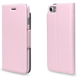 超薄型手帳型PUレザーケース TORRIO ピンク iPhone 7