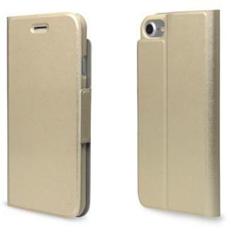 iPhone7 ケース 超薄型手帳型PUレザーケース TORRIO ゴールド iPhone 7