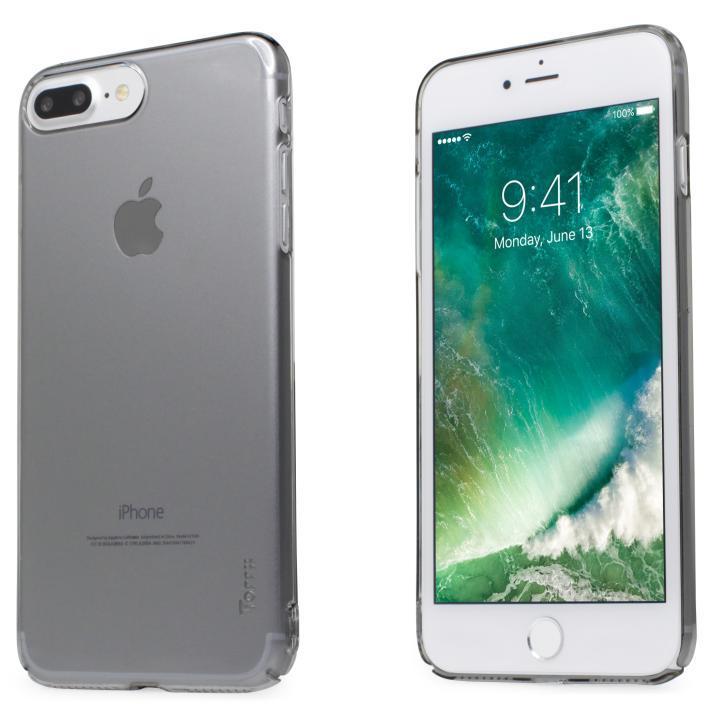 iPhone7 Plus ケース 自己修復ケース+強化ガラス HEALER スモーク iPhone 7 Plus_0