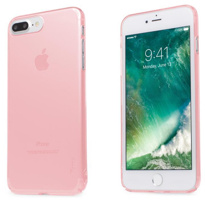 iPhone7 Plus ケース 自己修復ケース+強化ガラス HEALER ピンク iPhone 7 Plus_0