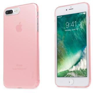 自己修復ケース+強化ガラス HEALER ピンク iPhone 7 Plus