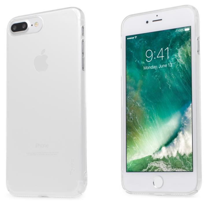 iPhone7 Plus ケース 自己修復ケース+強化ガラス HEALER クリアホワイト iPhone 7 Plus_0