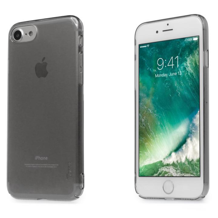 iPhone7 ケース 自己修復ケース+強化ガラス HEALER スモーク iPhone 7_0