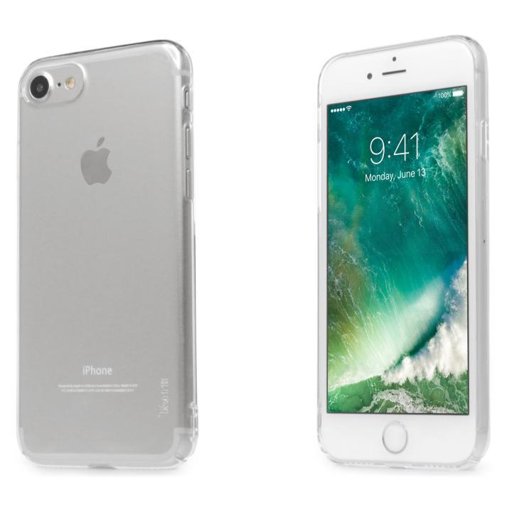 【iPhone7ケース】自己修復ケース+強化ガラス HEALER クリア iPhone 7_0