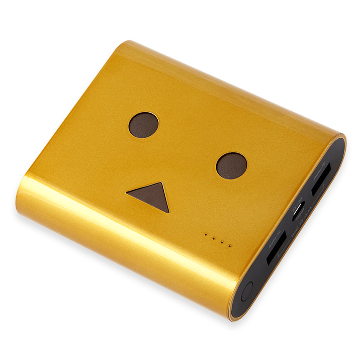 [13400mAh] ダンボーバッテリーcheeroPowerPlus3 DANBOARD VERSION ゴールドインゴット_0