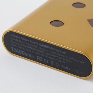 [13400mAh] ダンボーバッテリーcheeroPowerPlus3 DANBOARD VERSION ゴールドインゴット_3