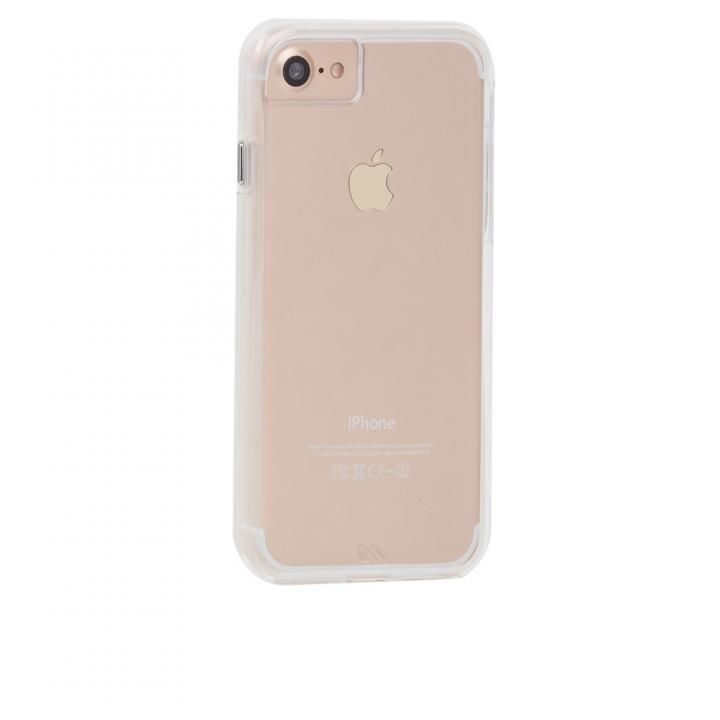 Case-Mate Naked Tough ハイブリッドクリアケース iPhone 8/7/6s/6