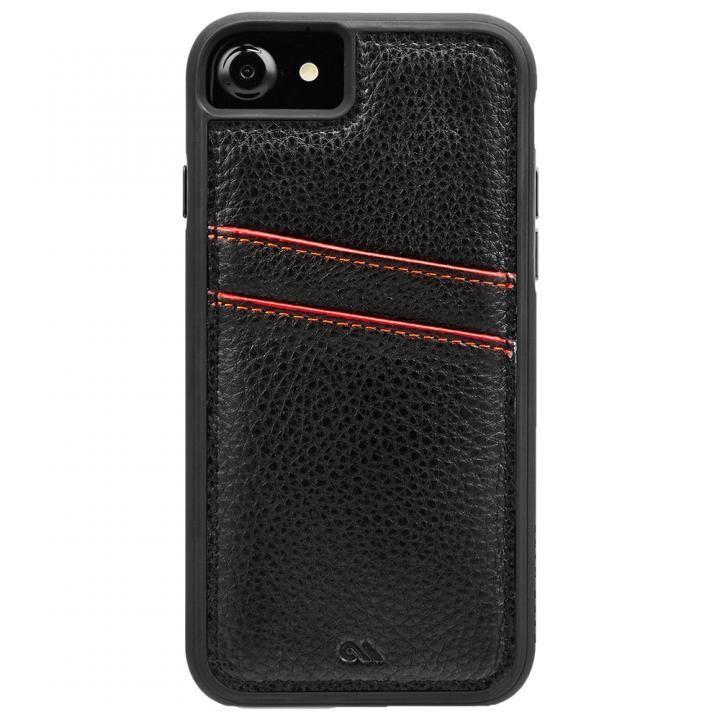 iPhone8/7/6s/6 ケース Case-Mate Tough カードポケットケース ブラック iPhone SE 第2世代/8/7/6s/6_0