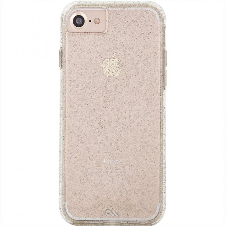 iPhone8/7/6s/6 ケース Case-Mate Sheer Glam-Champagne iPhone SE 第2世代/8/7/6s/6_0
