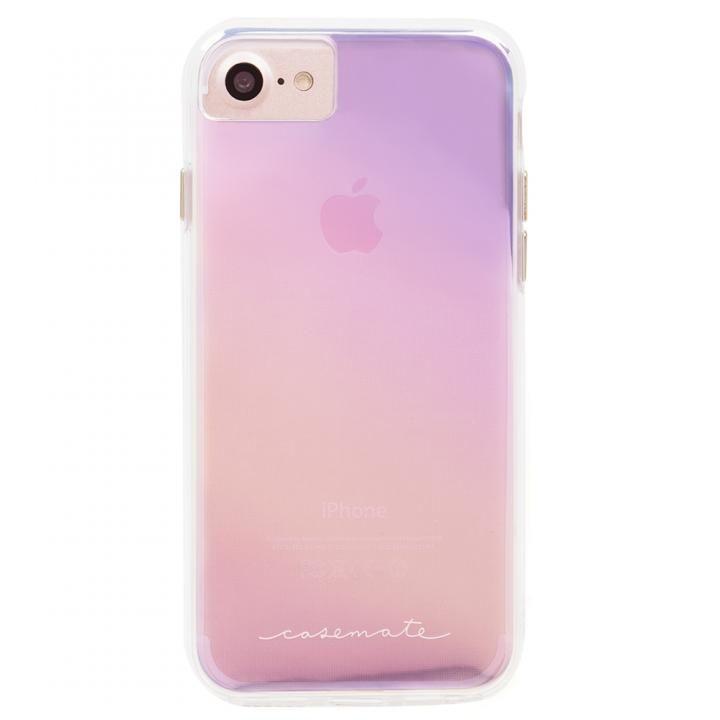 iPhone8/7/6s/6 ケース Case-Mate Naked タフケース Iridescent iPhone SE 第2世代/8/7/6s/6_0