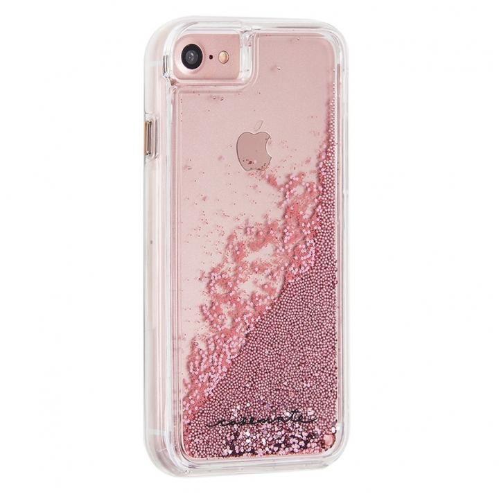 【iPhone8/7/6s/6ケース】Case-Mate Waterfallケース ローズゴールド iPhone 8/7/6s/6_0