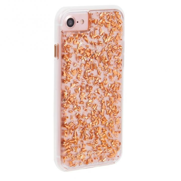 【iPhone8/7/6s/6ケース】Case-Mate Karat ケース Rose Gold iPhone 8/7/6s/6_0